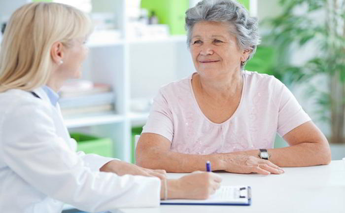 At what age, does menopause start?