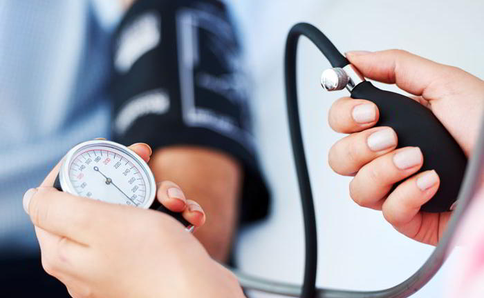 What is the reason for high blood pressure?