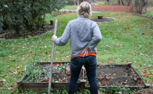 Whenever I do gardening. I suffer from mild backache. What is the reason?